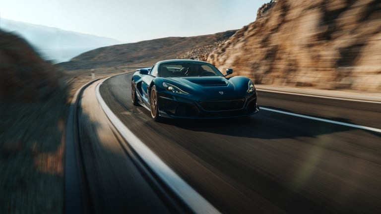 Rimac unveils the all-electric Nevera hypercar