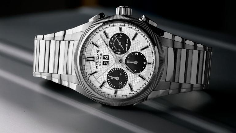 Parmigiani adds a bicolor dial option to the Tondagraph GT