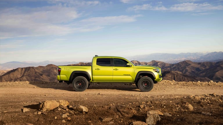 Toyota unveils the 2022 Tacoma TRD Pro and Trail Edition 4x4