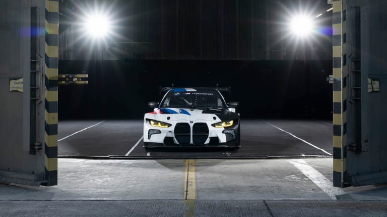 BMW unveils the track-ready M4 GT3
