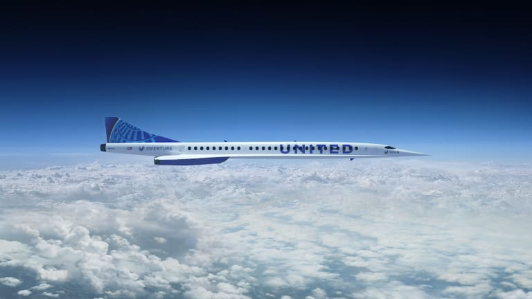 United Airlines wants to bring back supersonic air travel by the end of the decade