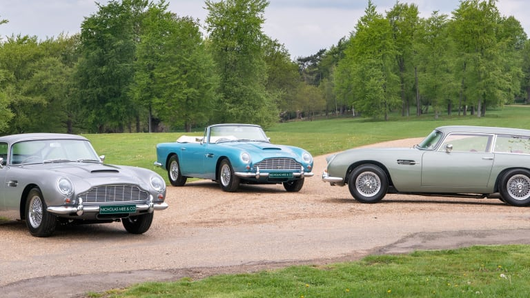 Three ultra-rare examples of the Aston Martin DB5 have just hit the market