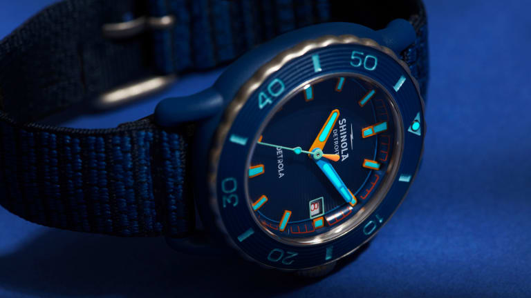 Shinola launches its first recycled timepiece