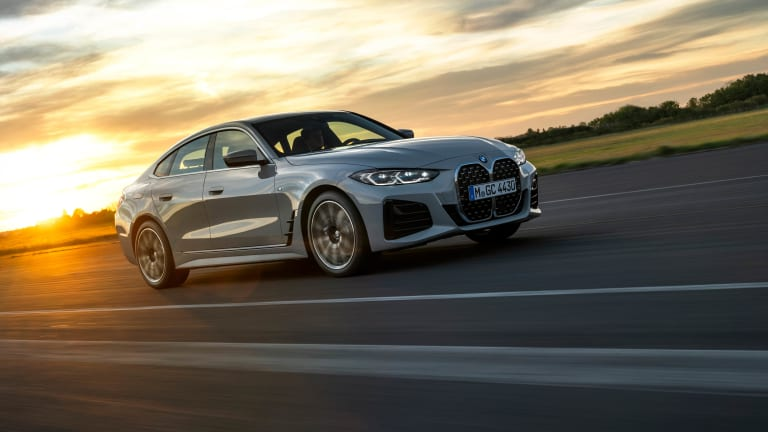 BMW unveils the 2022 4 Series Gran Coupe