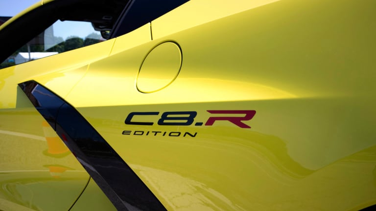 Chevrolet unveils a special edition Corvette inspired by its C8.R race cars