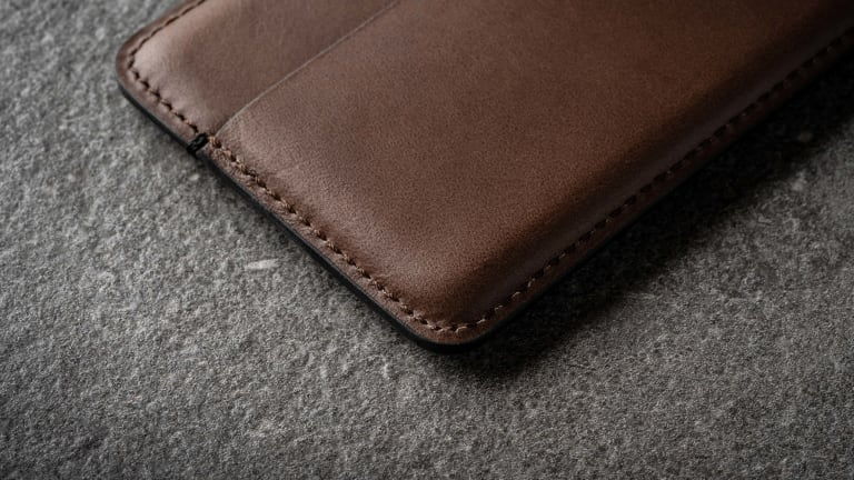 Nomad launches a new wallet collection made from thermoformed leather