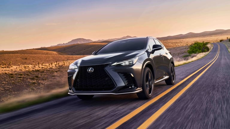Lexus reveals the second-generation NX crossover