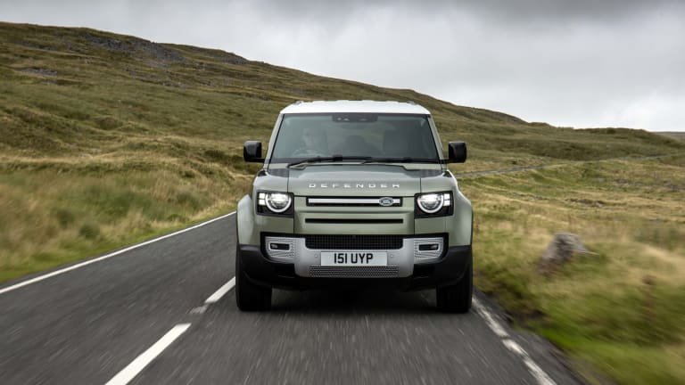 Land Rover is building a hydrogen-powered Defender
