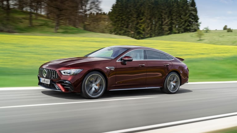 Mercedes updates the AMG GT 4-door Coupe with more comfort and customization