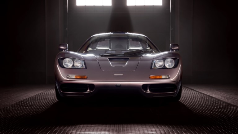 A one-of-a-kind Creighton Brown McLaren F1 is going to auction this August