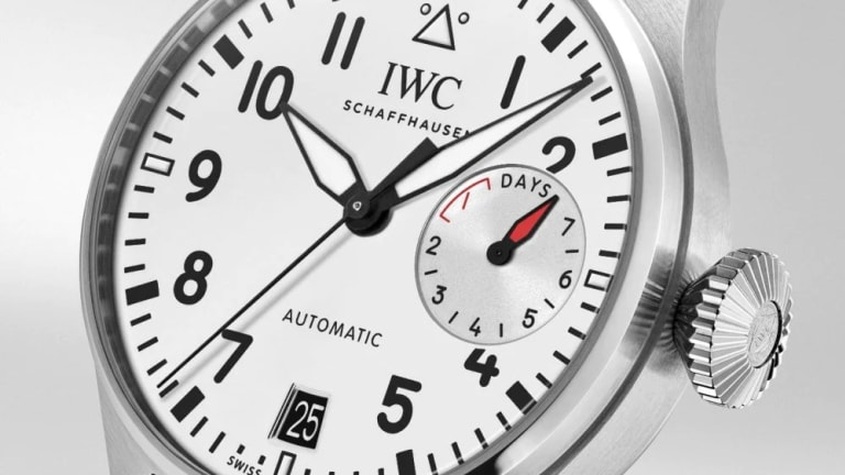 """IWC releases a """"Las Vegas"""" edition of the Big Pilot's Watch"""