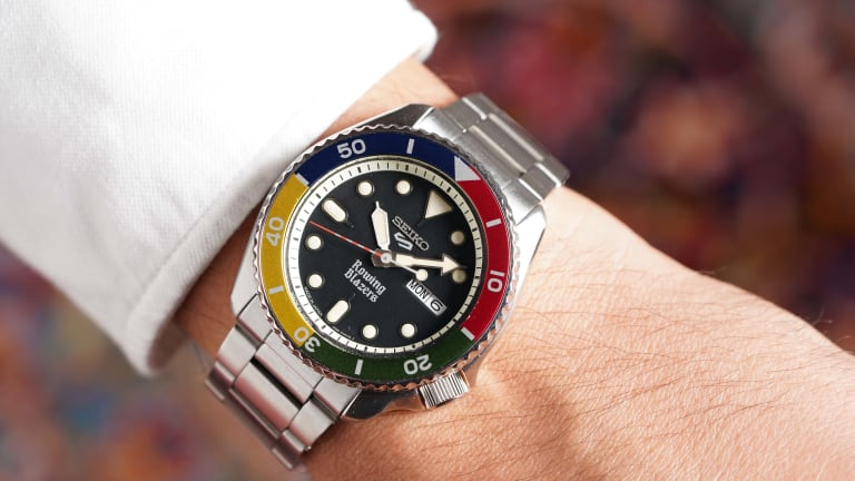 Seiko and Rowing Blazers launch their colorful collection of watches
