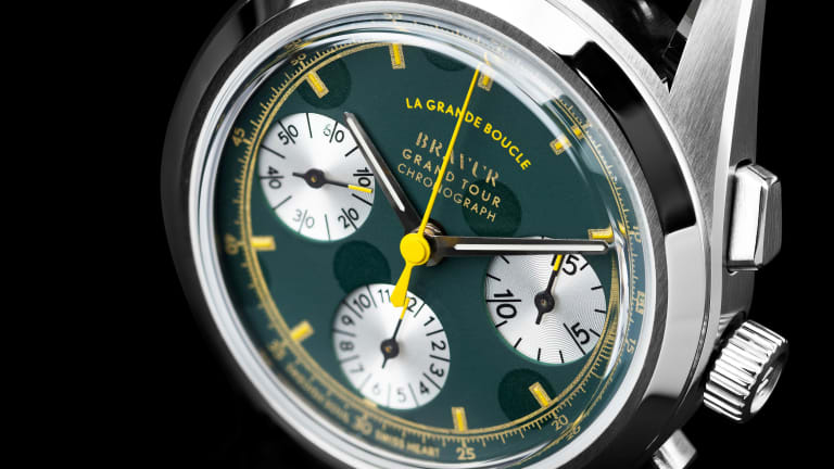 Bravur celebrates the Tour De France with its latest cycling chronograph