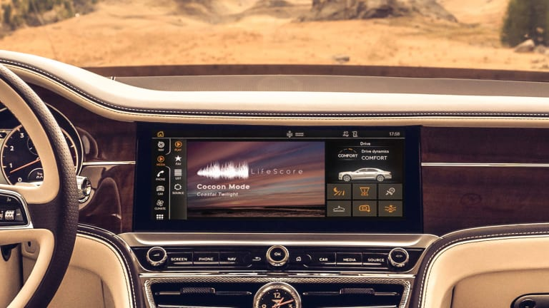 Bentley is using AI to create customized music experiences