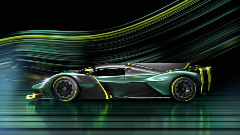 Aston Martin uncages the Valkyrie with the new AMR Pro model