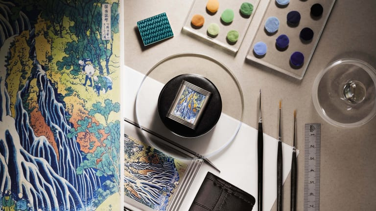 Jaeger-LeCoultre honors the work of Hokusai with a special edition Reverso