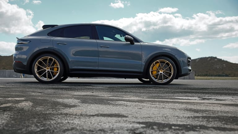 Porsche introduces its new flagship SUV, the Cayenne Turbo GT