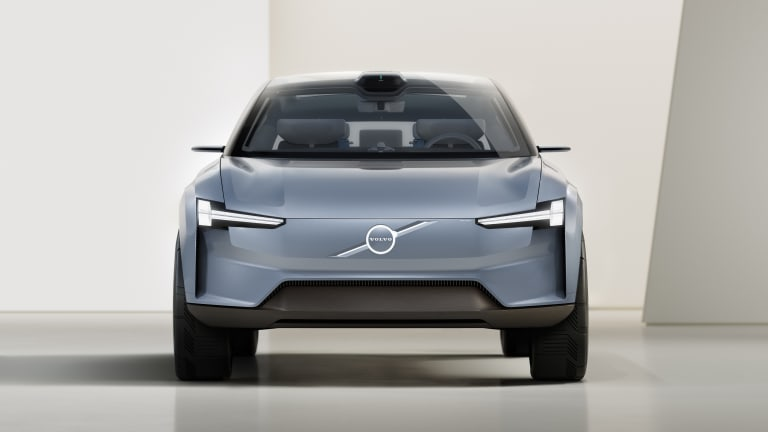 Volvo previews its new design language for its upcoming all-electric cars