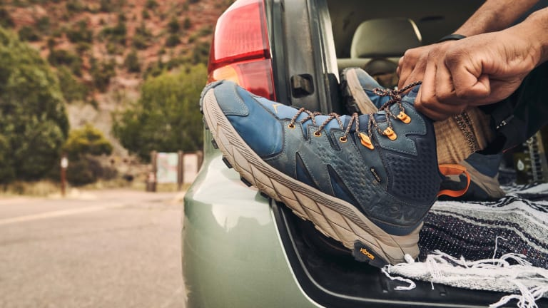 Hoka launches its new day hiker, the Anacapa