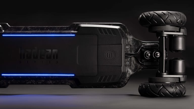 Evolve launches an electric skateboard with a deck made out of forged carbon fiber