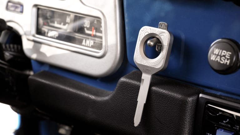 Formawerx launches a new custom key for the Land Cruiser
