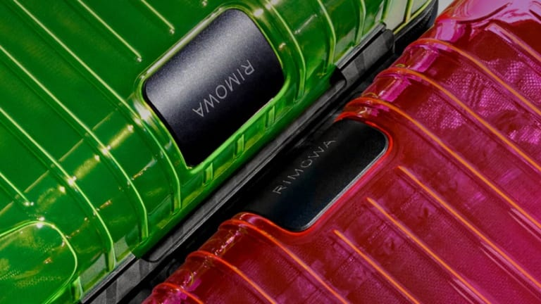 Rimowa goes neon with their new online exclusive