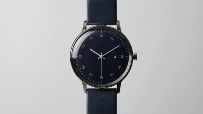 Sazare releases the SK-01 in a limited edition navy blue colorway