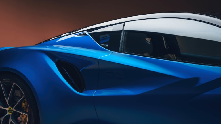 Lotus has unveiled its last gas-powered vehicle, the Emira