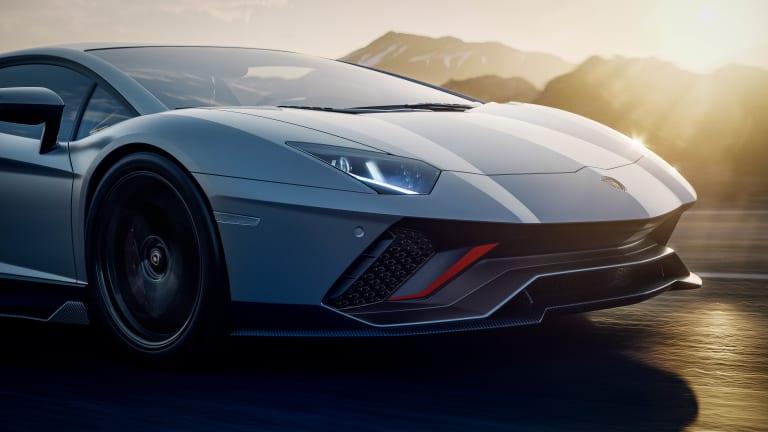 Lamborghini unveils the final Aventador