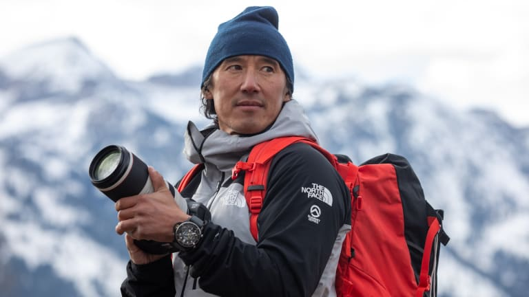 Panerai teams up with Jimmy Chin on two expedition-ready timepieces
