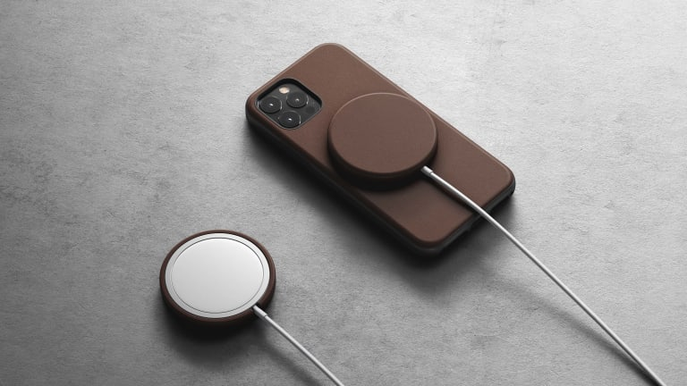 Nomad releases a Leather Cover for the MagSafe charger