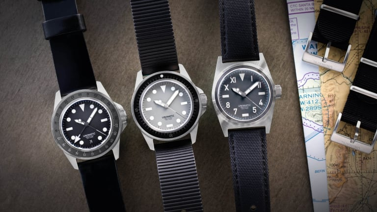 Unimatic and Hodinkee reveal a trio of limited-edition models
