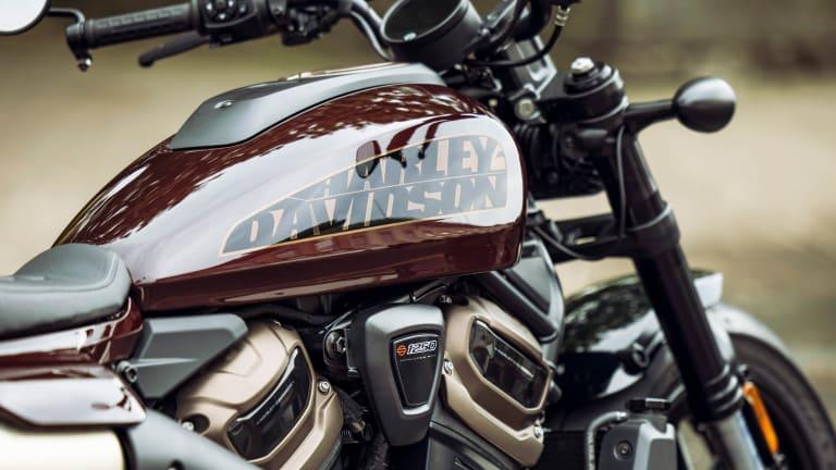 Harley Davidson unveils the Sportster S