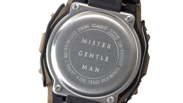 MISTERGENTLEMAN and G-Shock team up on a limited edition DW-5600E