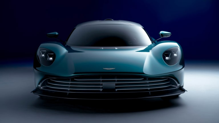 Aston Martin unveils the production version of the Valhalla supercar