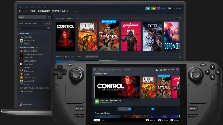 Steam creates a Switch-style device for the PC gaming