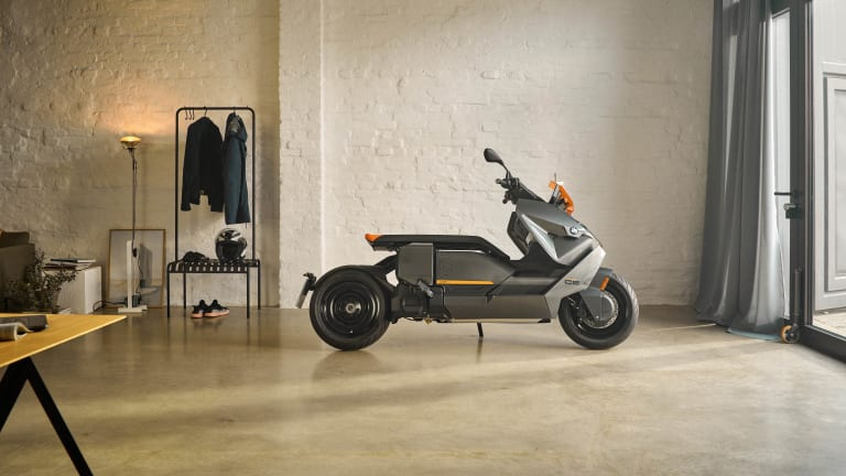 BMW's new CE 04 is a scooter with looks from the future