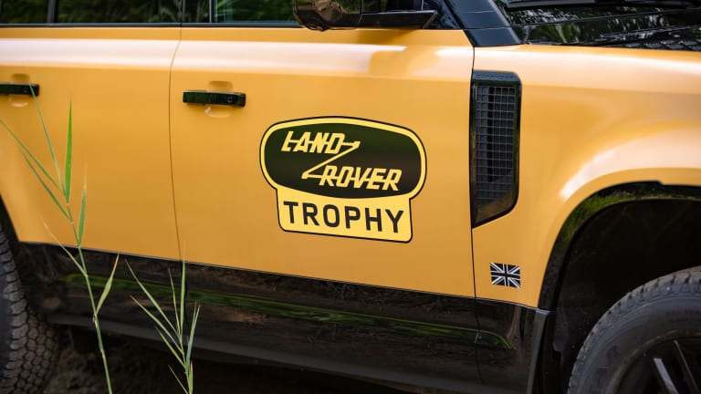 Land Rover reveals the Defender Trophy Edition