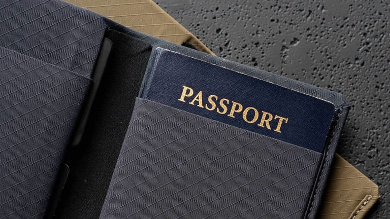 Pioneer uses its signature performance fabrics to create a new passport case