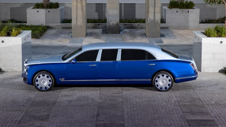 Bentley offers up a chance to own the ultra-exclusive Mulsanne Grand Limousine by Mulliner