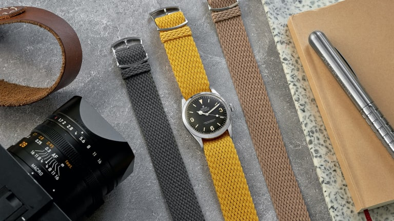 Hodinkee is finishing off the summer with a new collection of perlon straps