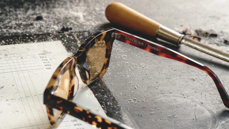 3sixteen releases its second sunglass collaboration with Lowercase