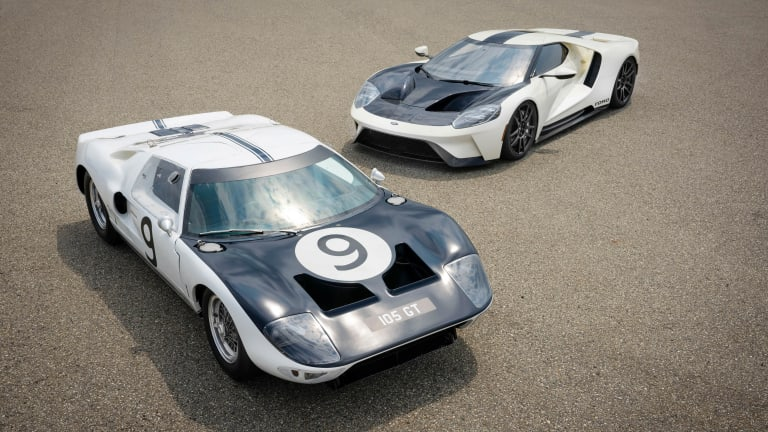 Ford unveils a new Ford GT Heritage Edition for its final year of production