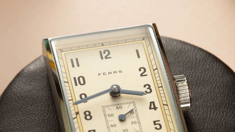 Fears celebrates its 175th anniversary with a reissue of a timepiece from the 1930s