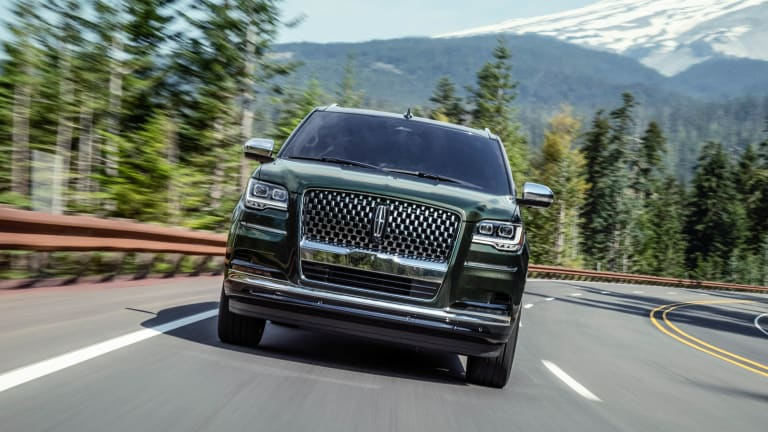 Lincoln reveals the 2022 Navigator
