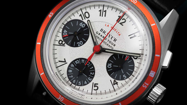 Bravur presents the final watch in its Grand Tour chronograph series