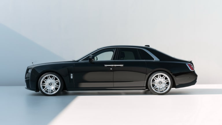 Spofec upgrades the new Rolls-Royce Ghost with more power and improved aerodynamics