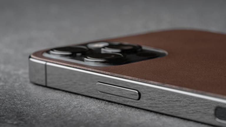 Nomad keeps it sleek and minimal with their new Horween Leather Skins