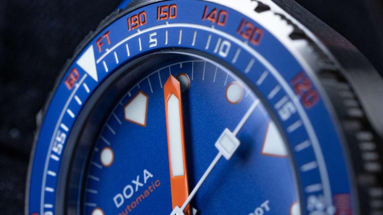 Doxa updates the SUB 600T with a new titanium case design