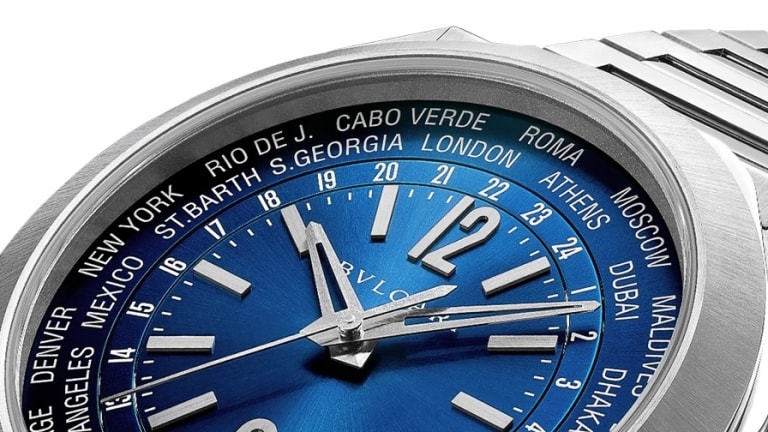 Bulgari travels in style with the new Octo Roma WorldTimer
